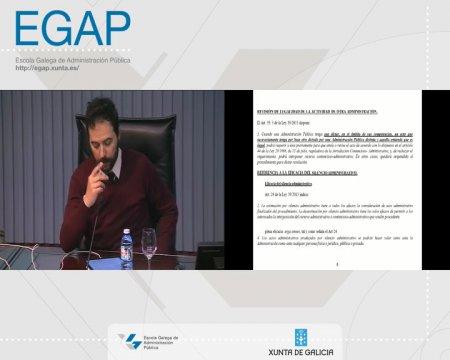 A eficacia dos actos administrativos e a súa execución - parte2 - As Leis 39/2015 e 40/2015 do Procedemento Administrativo Común (LPAC) e do Réxime Xurídico do Sector Público (LRXSP)